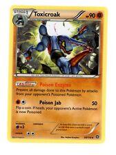 4X Toxicroak 59/114 REVERSE HOLO FOIL RARE NM Pokemon Steam Siege TCG