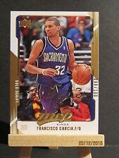 2008-09 Upper Deck MVP Gold Script #141 Francisco Garcia SN 098/100