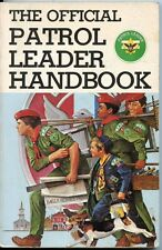 The Official Patrol Leaders Handbook - 3rd Edition - Boy Scouts 1980/1988