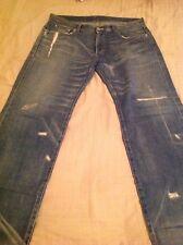 Neighborhood Jeans, Crack Savage, Large, medium cut, 2005