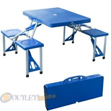 Tavolo Da Campeggio Con Sedie Incorporate.Tavoli Sedie E Sgabelli Da Campeggio Acquisti Online Su Ebay