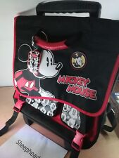 Official Disney Store Mickey Mouse Trolley Bag/Backpack - New with Tags