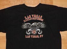 Harley-Davidson Las Vegas, NV Black Short Sleeve T-Shirt - Men's 2X
