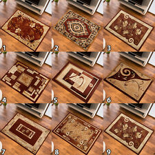 SMALL MEDIUM EXTRA LARGE RUG CLASSICAL CARPET TRADITIONAL PATTERN NEW SOFT BROWN