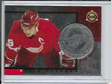 97-98 Pinnacle Mint Steve Yzerman Silver Team # 5