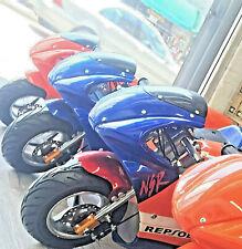 Gas Pocket Motorbike Bike Scooter 49cc Engine 1.5L Motorcycle Kids Height
