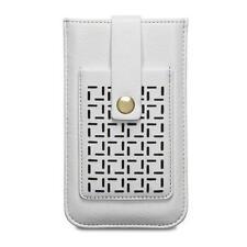Lexi perforé motif crème pochette avec porte-carte case pour Apple iPhone 7