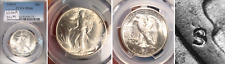 1946-S/S HALF RPM #1 DOUBLED DIE OBV AND REV AND REPUNCHED MINT MARK PCGS MS-66