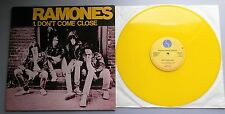 "Ramones-no se acercan UK 1978 Sire Records Amarillo Vinilo 12"" SINGLE"