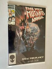 New Mutants Annual #1 Direct edition 6.0 FN (1984)