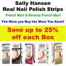 Sally Hansen Salon Effects 16 Real Nail Polish Strips French Mani & Reverse- 25%