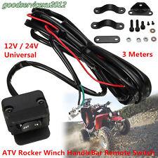 3M ATV UTV Winch Rocker Switch Handlebar Control Line Tool For Warn Accessories