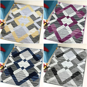 MODERN SMALL LARGE GREY YELLOW PURPLE DESIGNER BUDGET AREA RUGS FOR SALE