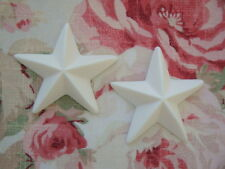 Large Star Furniture Appliques 2 pcs. Architectural Onlay Embellishment