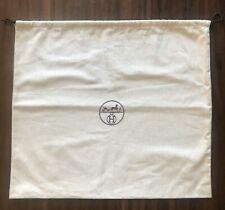 """Auth HERMES Dustbag Cover Sleeper Bag Herringbone 21"""" x 19"""" for a Birkin Kelly"""