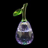 Pear Purple Austrian crystal figurine ornament RRP$229