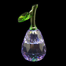 Pear Purple Austrian crystal figurine ornament RRP$229