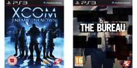 xcom enemy unknown & the bureau x com declassified  PS3   PAL FORMAT