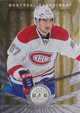 13-14 Totally Certified Max Pacioretty 1/25 Platinum GOLD Canadiens 2013