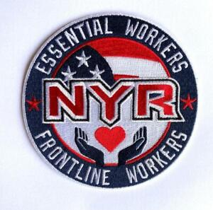 NHL New York Rangers Essential Workers Patch Front Line Workers Embroidered
