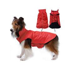 Imperméable rouge unisexes pour chien