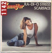 "JENNIFER - Ra-di-o - VINYL 7"" 45 LP ITALY 1981 VG+ COVER  VG-"