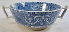 Copeland Spode Camilla Cream Soup Bowl Blue Transferware Smooth Edge (O) AS IS