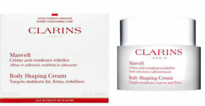 Clarins Body Shaping Firming Cream Stubborn fat areas 200ml/6.4oz New Sealed