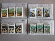 Full Set Coral Reefs Issues # 1827 - 1830 x 100 Used US Stamps of Each