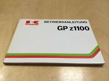 Kawasaki GPZ 1100 Betriebsanleitung / Fahrerhandbuch  (1983)