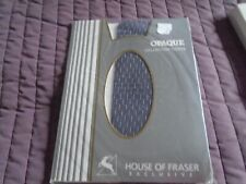 House of Fraser Exclusive opaque collection tights in Malaga