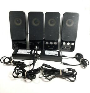 Creative GigaWorks T20 Series II satellite stereo computer speakers 2 sets