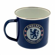Chelsea Enamel Tin Mug - Official Merchandise - Ideal Gift