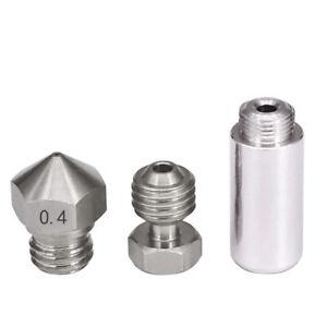 MK10 All Metal Hotend Conversion 3D printer Upgrade Steel 0.4 Nozzle 1.75mm