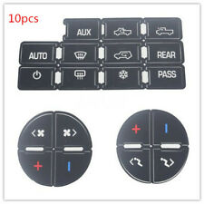 10X Universal Ac Button Repair Parts Decal Stickers For 07-14 Chevy Gmc Trucks