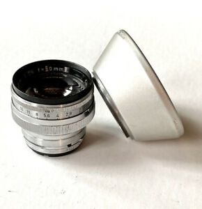 Carl Zeiss 50mm Sonnar f1.5 #1440144 with Hood #1119