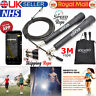 Skipping Rope 3M Adjustable Steel Cable Speed Fitness Exercise Crossfit Boxing.