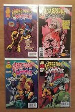 MYSTIQUE SABERTOOTH 1 2 3 4 *Collection of 17 *NM* Marvel Comics* X-Men Movie