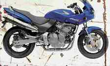Honda CB600S hornet 2002 aged vintage signe A3 grand rétro