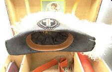 Masonic Knights of Pythias Feathered Napoleon Hat Epaulets Belt Case Lilley Co.