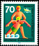634 postfrisch BRD Bund Deutschland Briefmarke Jahrgang 1970