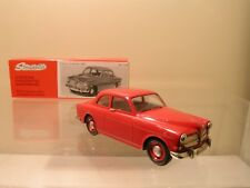 SOMERVILLE MODELS 124 VOLVO 121 AMAZON SEDAN 1962 RED + BOX SCALE 1:43