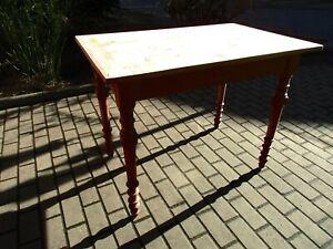 Tisch Esstisch Jugendstil um 1900 Weichholz Nr.17