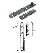 8 Stück RS Zapfenband #5011 verzinkt, Länge 60mm im restaurierungsshop
