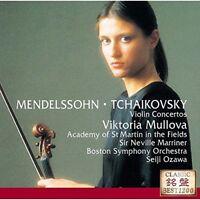 VIKTORIA MULLOVA-MENDELSSOHN & TCHAIKOVSKY: VIOLIN CONCERTOS-JAPAN CD