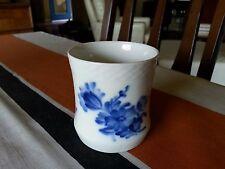 Vintage ROYAL COPENHAGEN DENMARK BLUE FLOWER BRAIDED TOOTHPICK CUP 8253