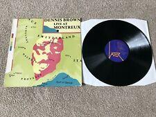 """DENNIS BROWN LIVE AT MONTREUX : EX UK 12"""" VINYL LP LASER LASL5 - PRO CLEANED!!"""