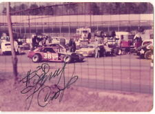 Jerry Cook #38 NASCAR HALL OF FAMER MODIFIED VINTAGE 70s signed 3x5 photo 1 of 1