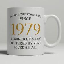 40th Birthday Present Gift Born 1979 Mug Idea Men Women Ladies Dad Mum Happy 40
