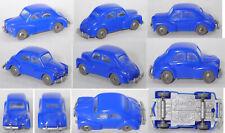 Siku Plastik V50 Renault 4CV, ultramarinblau, ca. 1:60